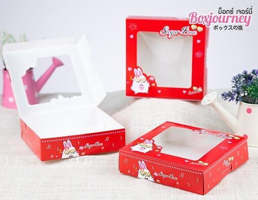 กล่องบราวนี่ ลายSugarbun 001