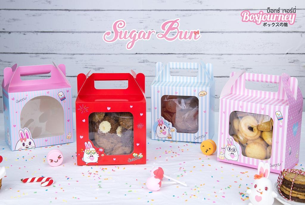 กล่องคุ๊กกี้ 500g SUGAR BUN 001