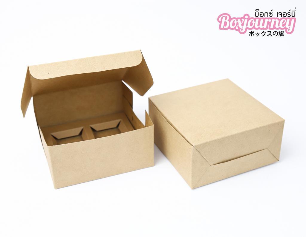 กล่องสแน็คเล็กคราฟ พร้อมฐาน 2 ช่อง